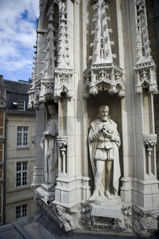 Vesalius op het stadhuis © Marco Mertens