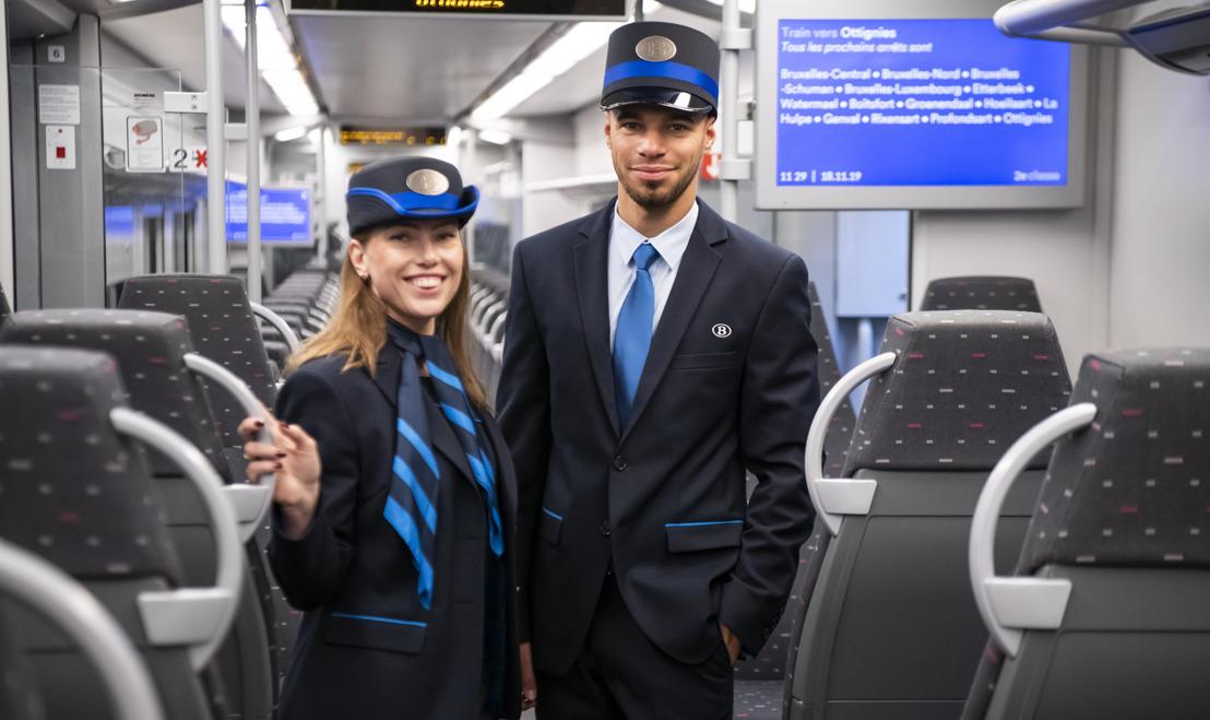 Nieuw NMBS-uniform vanaf vandaag zichtbaar voor de reizigers