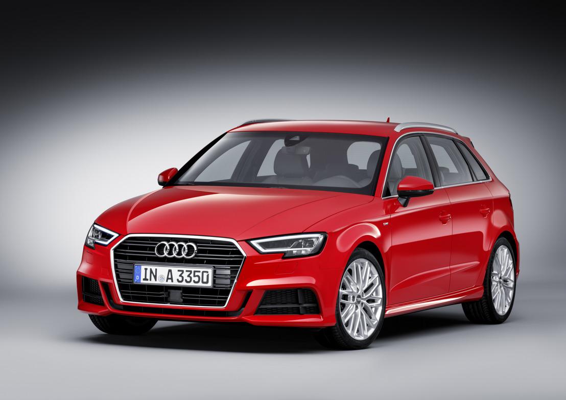 Nouvelles technologies pour le bestseller des compactes : l'Audi A3 restylée