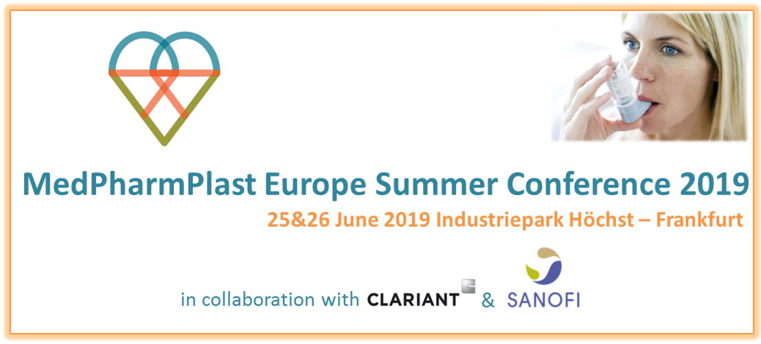 MedPharmPlast Europe Summer Conference 2019 - Final Programme Available