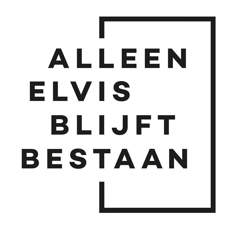 Nieuw logo Alleen Elvis blijft bestaan