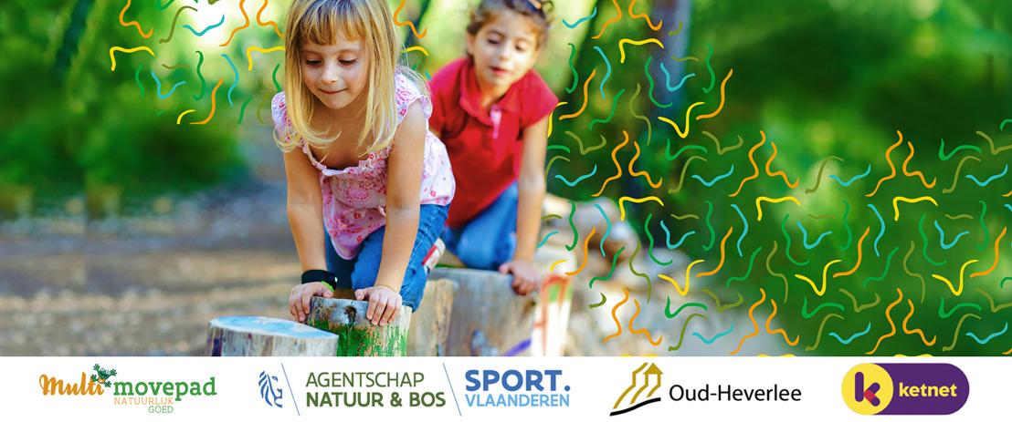 In het Meerdaalwoud spelen kinderen vanaf vandaag op het allereerste 'Multimovepad'