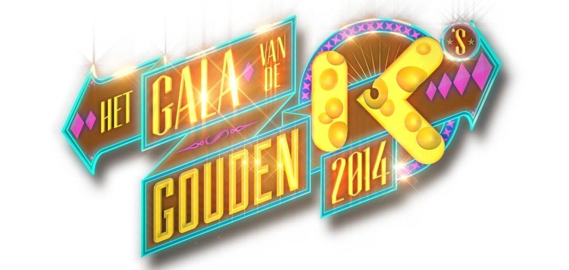 Logo van het Gala van de Gouden K's 2014