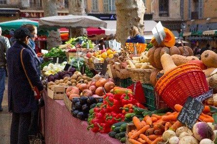 Marché Aix-en-Provence - © S. Spiteri