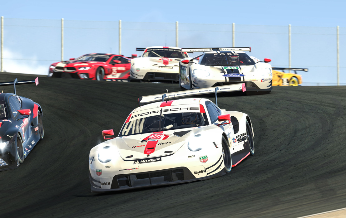 Race, IMSA iRacing Pro Series, round 2, Laguna Seca (USA)