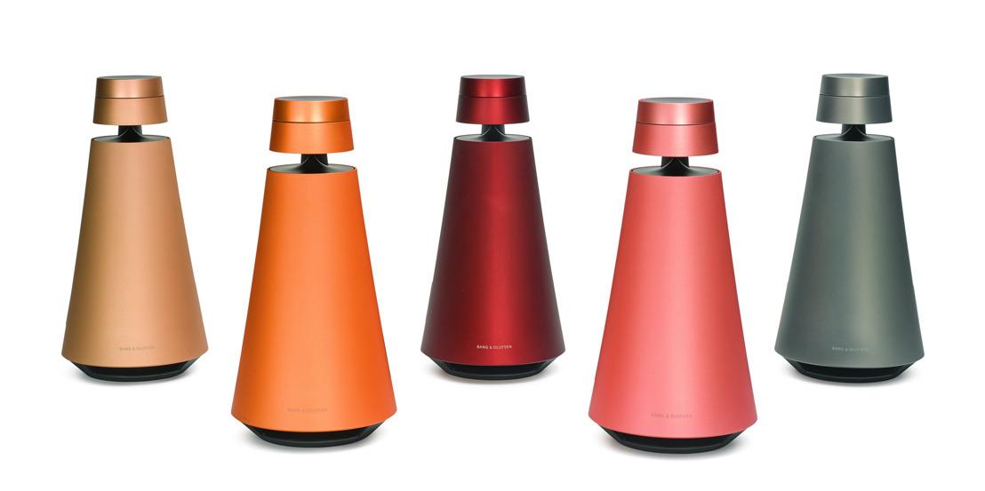 Bang & Olufsen presenteert vijf unieke draadloze BeoSound 1 speakers in uitzonderlijke kleuren, uitsluitend verkrijgbaar via Sotheby's