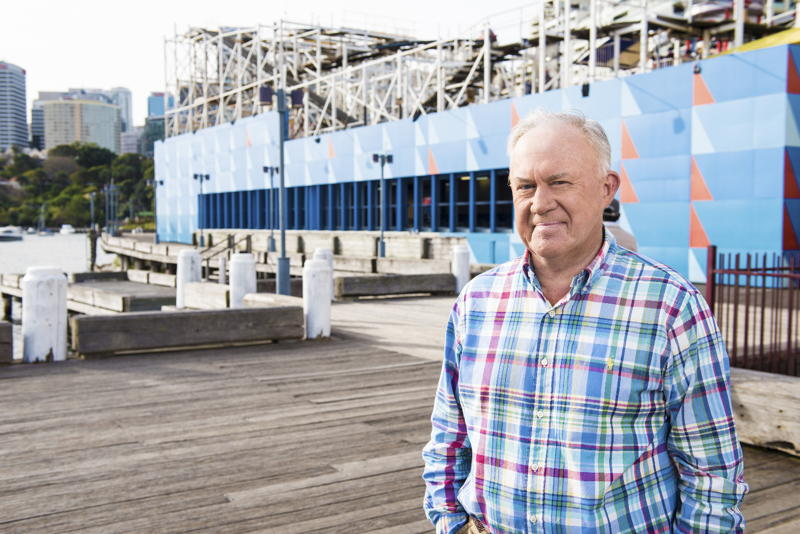 ABC Grandstand welcomes back the voice of summer, Jim Maxwell.
