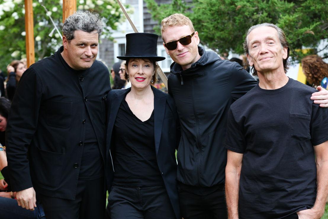Isaac Mizrahi, Suzanne Vega, Teddy Thompson y GE Smith