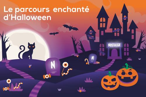 Nostalgie présente son premier parcours enchanté d'Halloween !