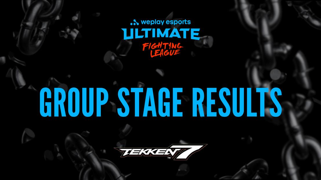 Результаты группового этапа WePlay Ultimate Fighting League Season 1 по Tekken 7