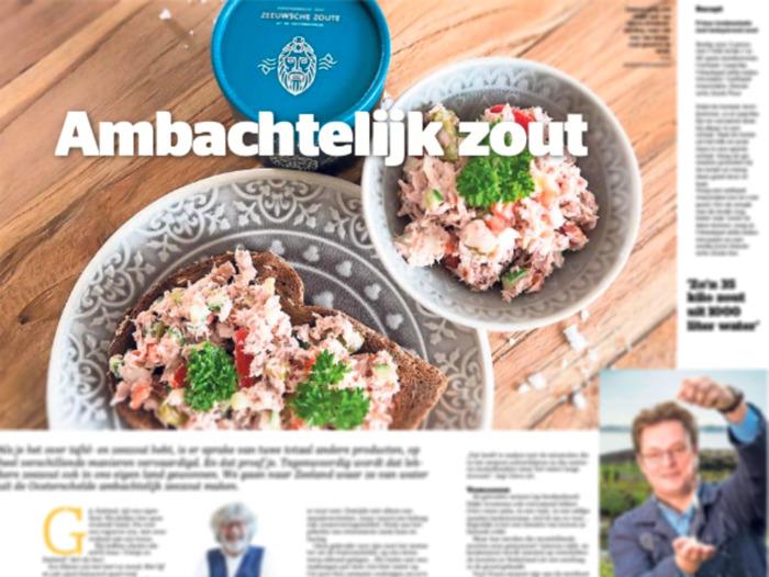 Preview: Zeeuwsche Zoute in De Telegraaf