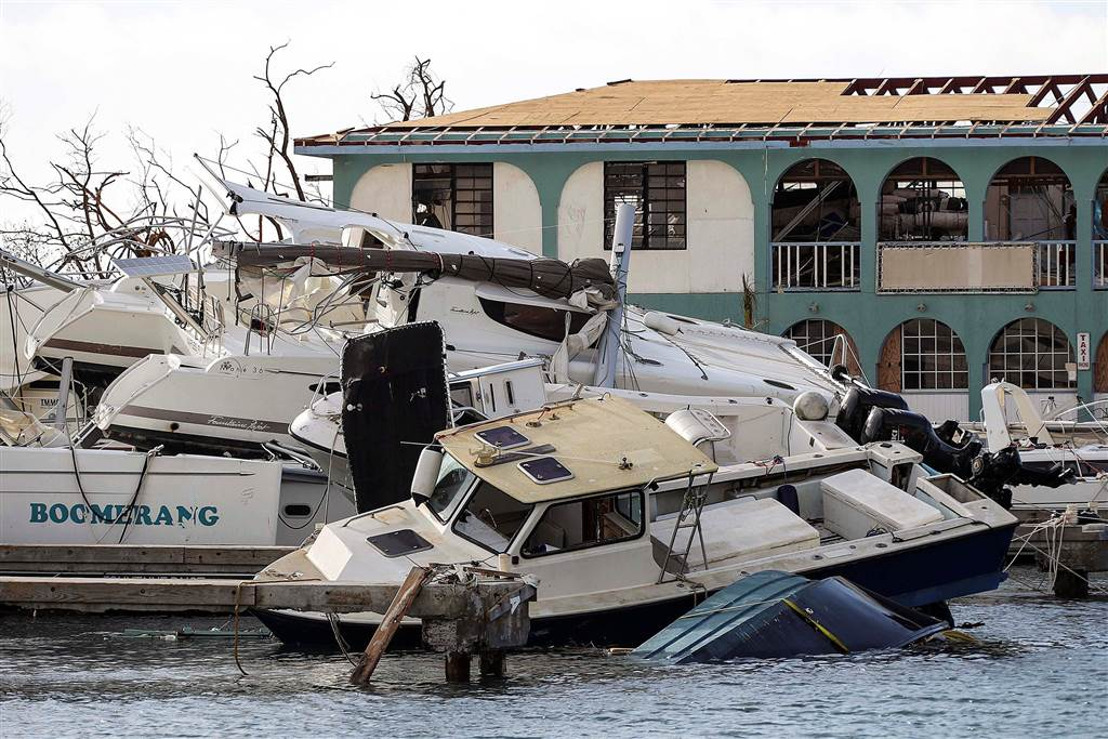 Department of Disaster Management of the British Virgin Islands - Situation Report 001