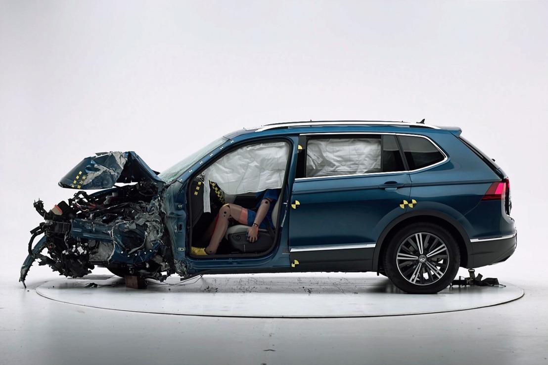 Volkswagen Tiguan 2018 recibe la categoría de TOP SAFETY PICK 2017