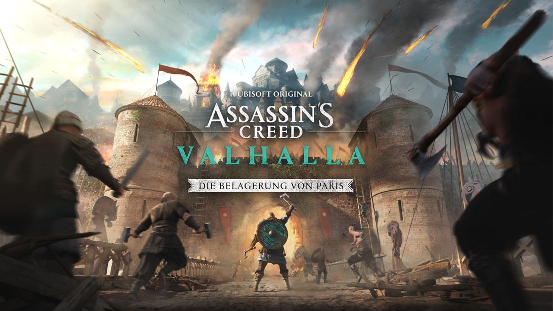 ASSASSIN'S CREED VALHALLA: DIE BELAGERUNG VON PARIS ERSCHEINT AM 12. AUGUST