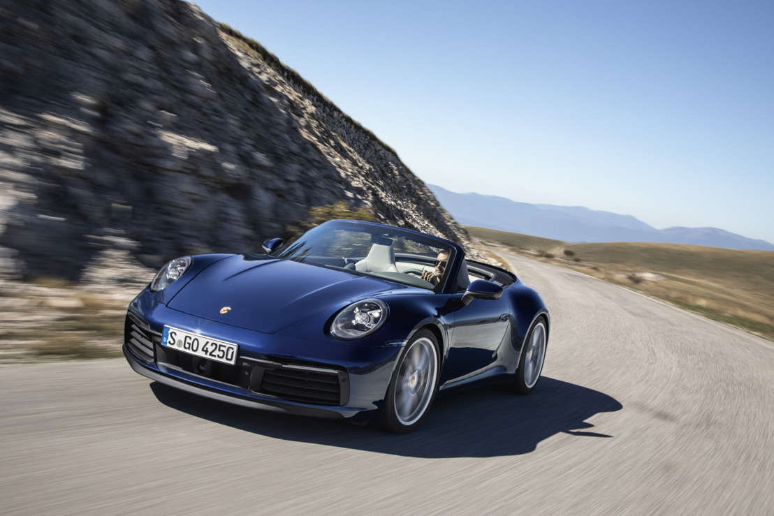 Porsche présente la première variante dérivée de son modèle emblématique