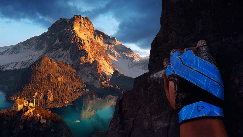 The Climb - Alps - Glove