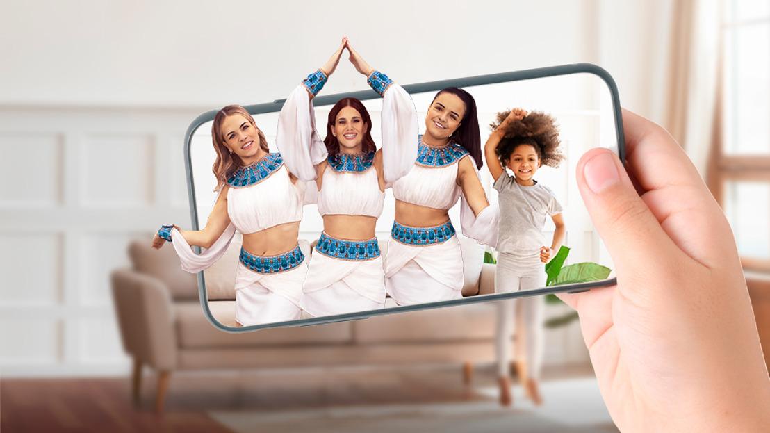 The Park brengt nieuwe in-home ervaring met augmented reality app voor nieuwe K3 single 'Piramide van Liefde'