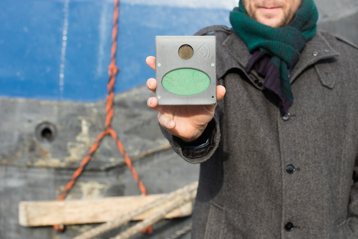 Capteur sonar 3D - Photo UAntwerpen