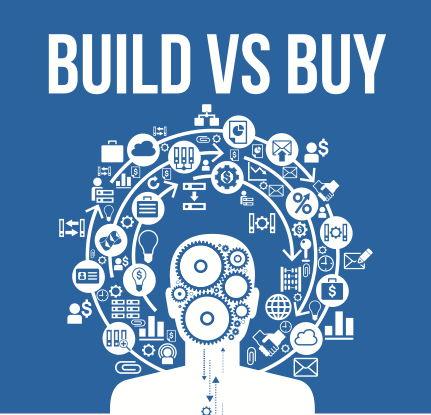 Build vs buy presentation