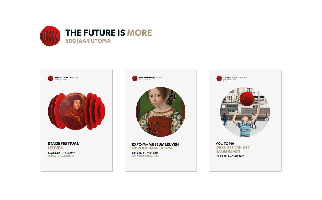 Campagnebeelden<br/>500 Jaar Utopia - The Future Is More -www.utopialeuven.be