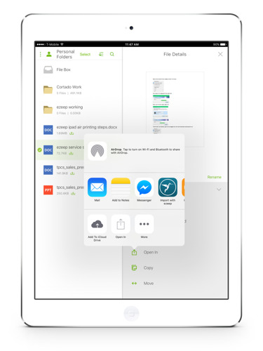 Press Release: ThinPrint Cloud Services Enables Mobile Printing for Citrix ShareFile