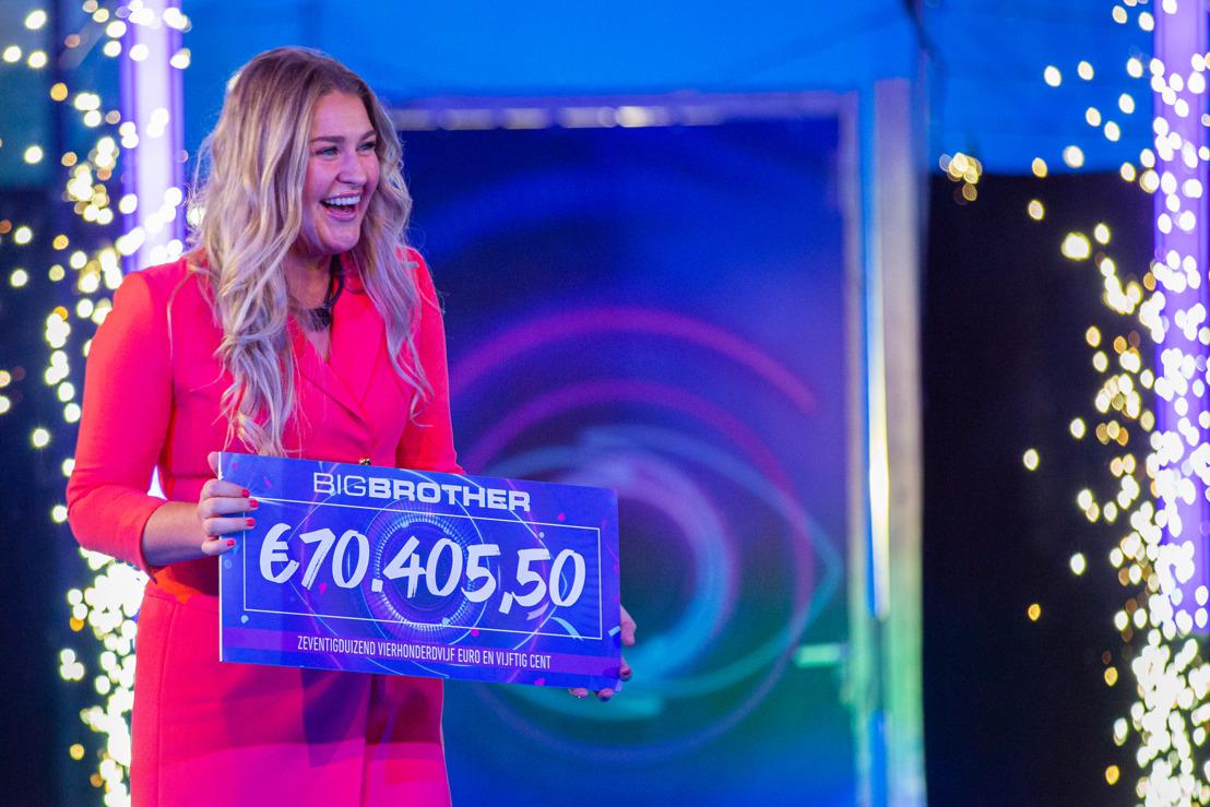 Jill wint Big Brother 2021 en gaat naar huis met 70.405,50 euro