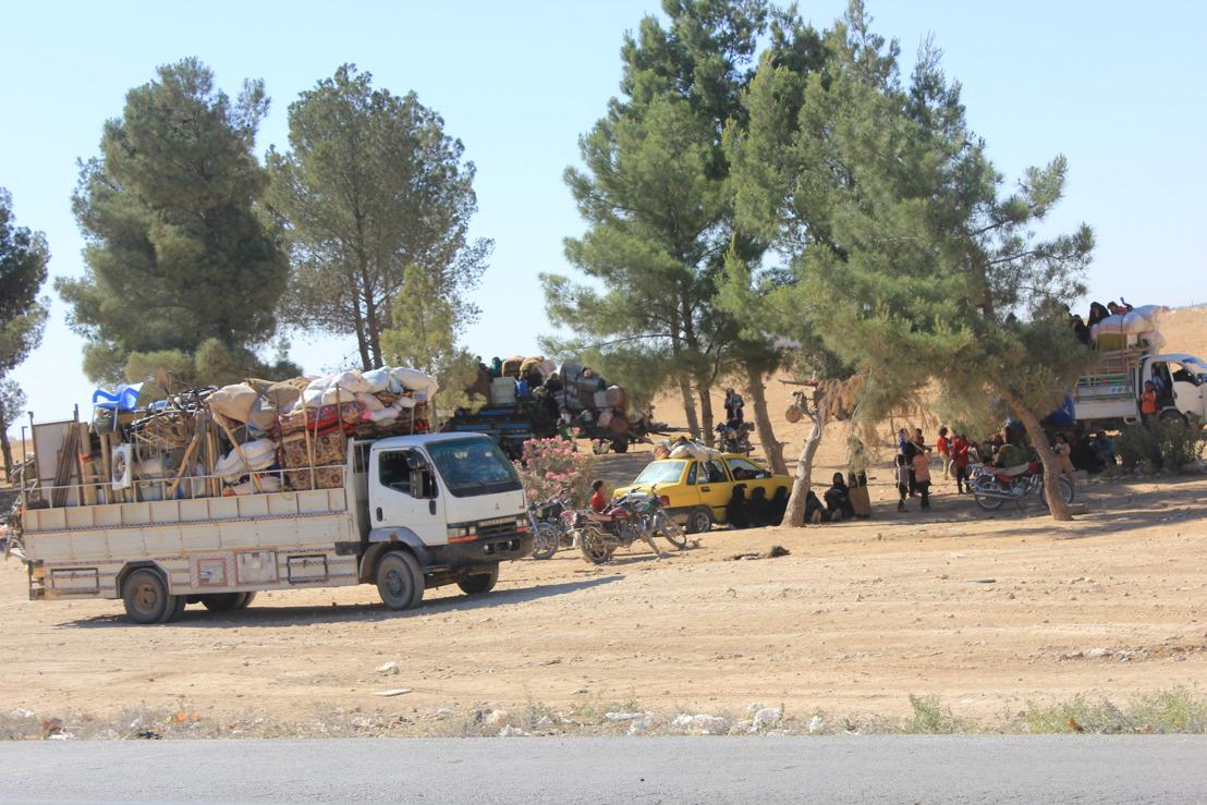 Syrie : A Raqqa, le choix impossible entre subir les bombardements aériens ou traverser des champs de mines