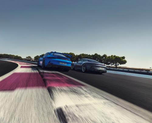 La nouvelle Porsche 911 GT3 avec pack Touring