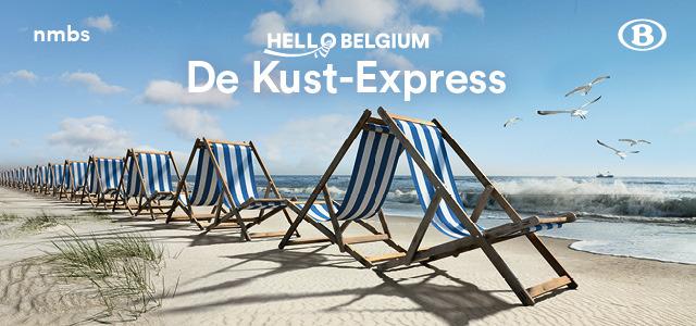 NMBS lanceert de Kust-Express: rechtstreekse reservatietreinen van en naar de kust tijdens de zomervakantie