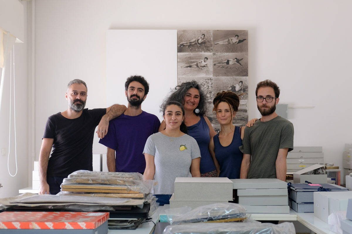 AIF team: Rawad, Charbel, Rachel, Heba, Clémence and Mahmoud