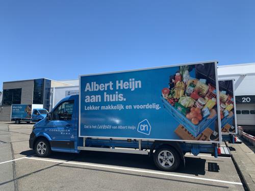 Albert Heijn levert nu ook aan huis in Schoten, Wijnegem, Wommelgem, Schilde, Deurne en Borgerhout