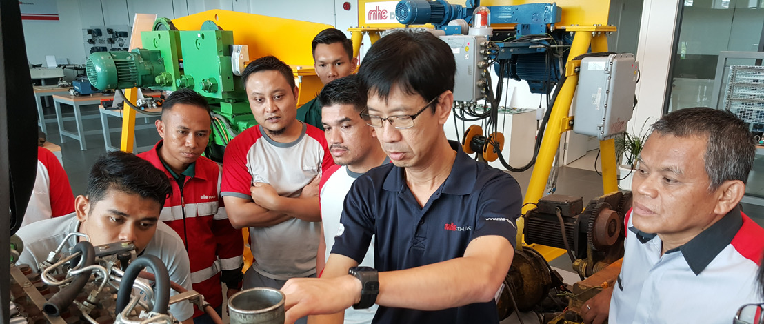 MHE-Demag Singapore Conducted 3-Day Service Trainings for Authorised Agents