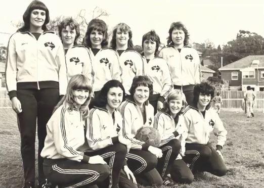 Australian women's soccer team 1970s
