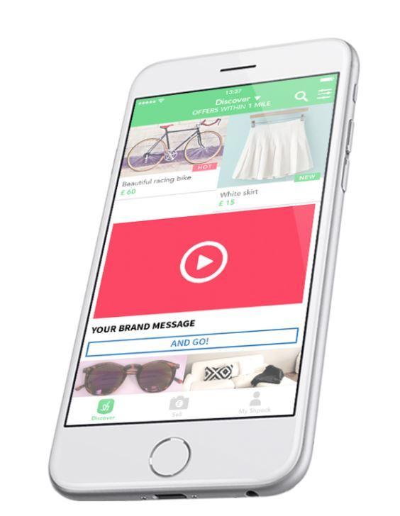 Vielseitige Werbe- und Targeting-Möglichkeiten machen Shpock besonders attraktiv für Kunden, die die kaufwillige Smartphone-Generation erreichen wollen.