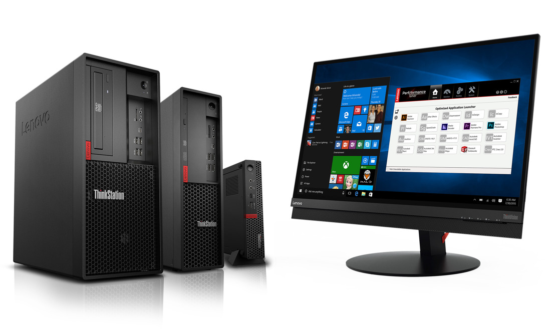 Lenovo introduceert ThinkStation P330-reeks