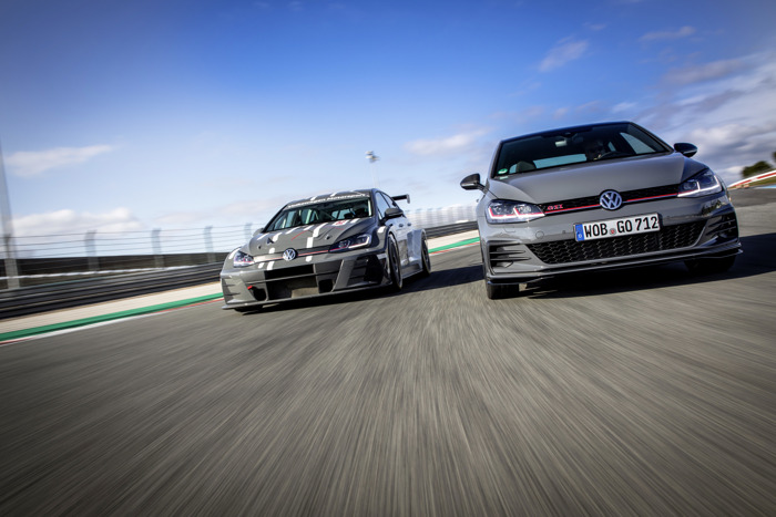 Technology transfer between motorsport and series: Racing car serves as a model for the Golf GTI TCR