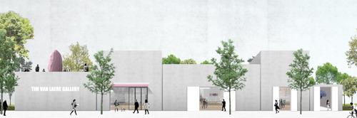 Tim Van Laere Gallery verhuist naar Nieuw Zuid in uniek gebouw ontworpen door OFFICE Kersten Geers David Van Severen