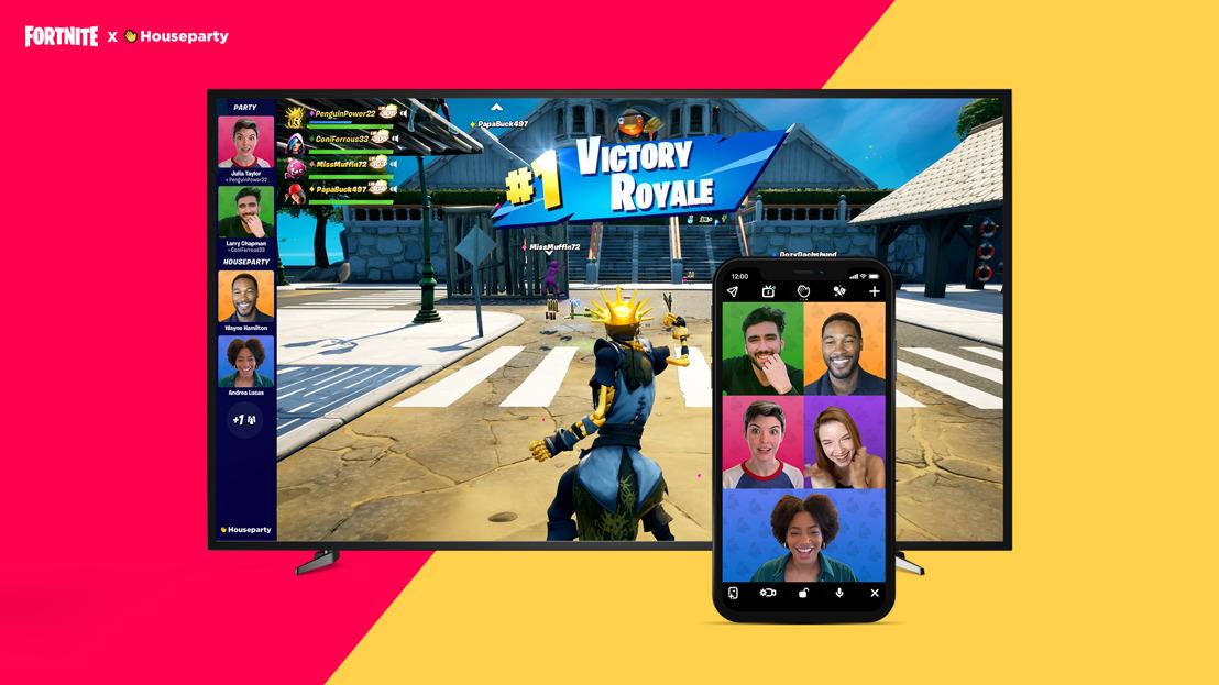 El videochat llega a Fortnite gracias a Houseparty