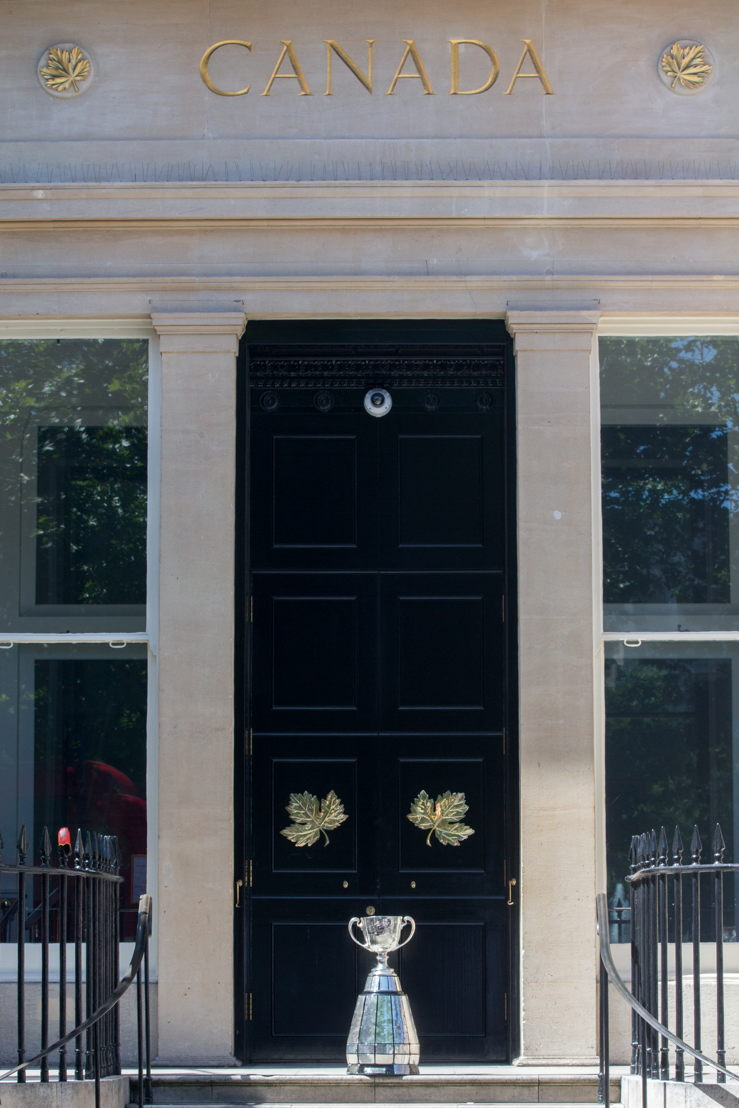 An entrance to Canada House. Photo: Jim Ross/CFL.