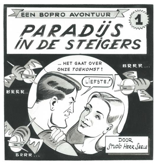 Les 30 ans de Bopro : cartoon par Herr Seele