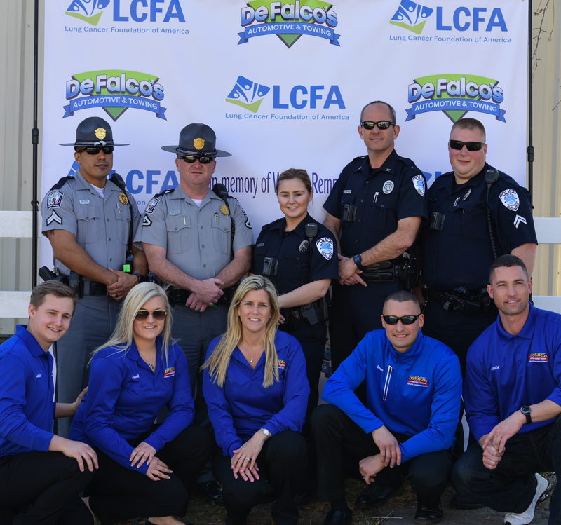 The Rempfer family, South Carolina Highway Patrol and Surfside Beach Police Department