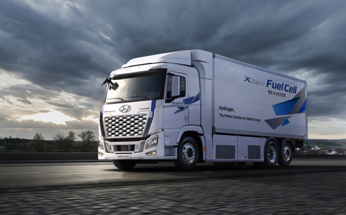 Hyundai Motor überarbeitet Design und Performance des XCIENT Fuel Cell Trucks für die globalen Märkte