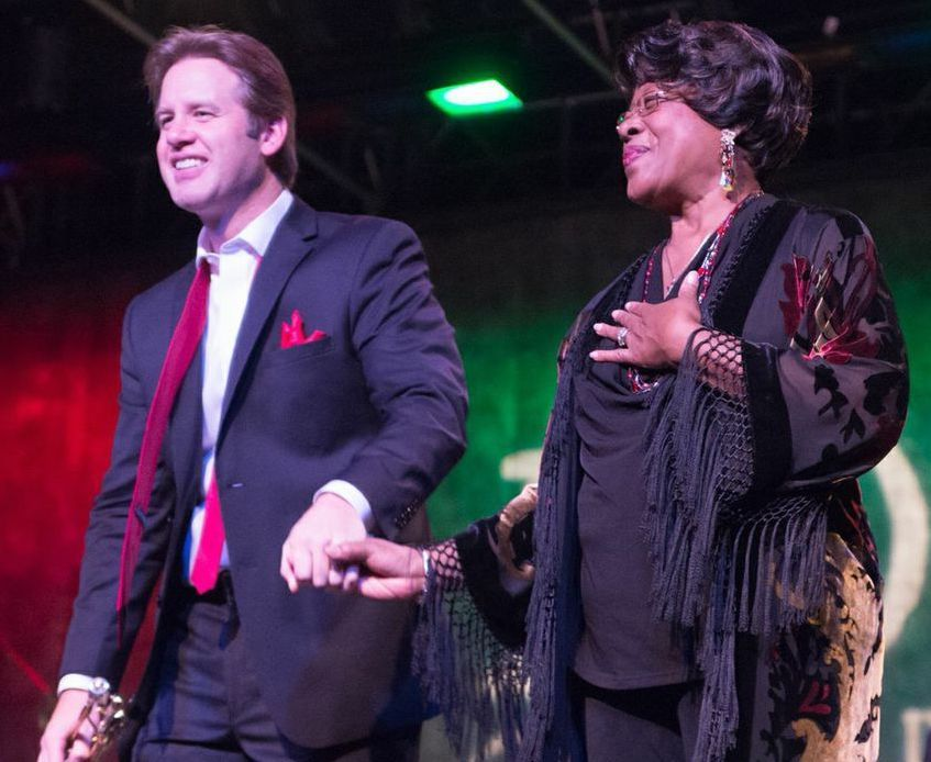 Joe Gransden and Francine Reed