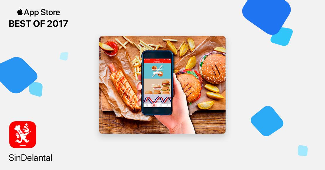 SinDelantal ha sido incluida en Lo Mejor de 2017 en App Store