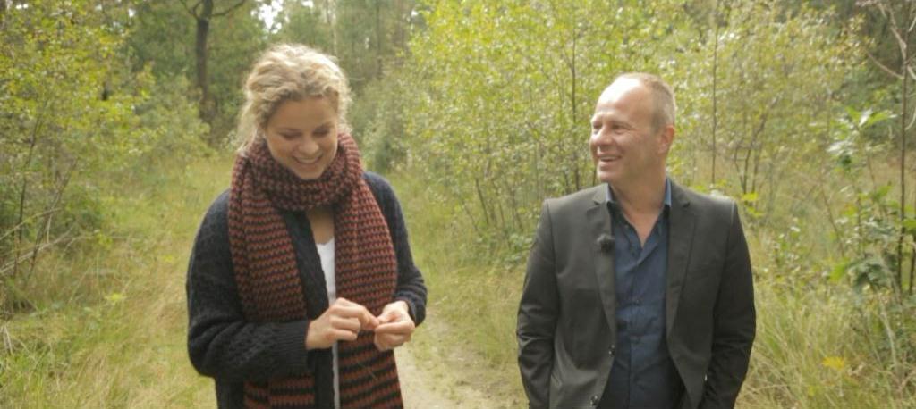 Kim Clijsters en Ben Crabbé - (c) VRT - deMENSEN