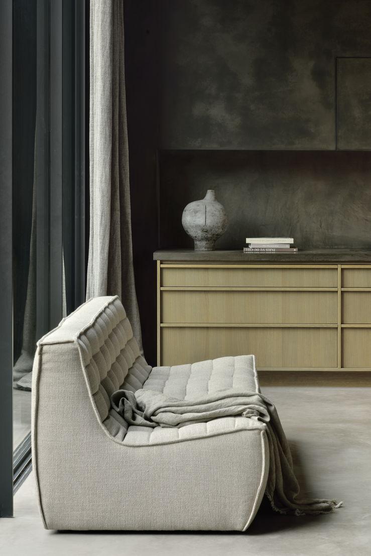 Ethnicraft N701 sofa 3 seater_setting