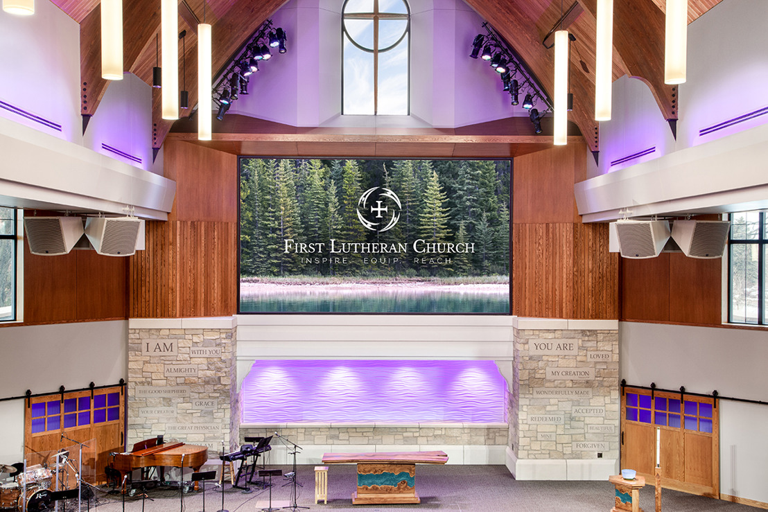 First Lutheran Church of Fargo, ND Tasks Wild I CRG, WSDG, and Tricorne Audio For Major Expansion