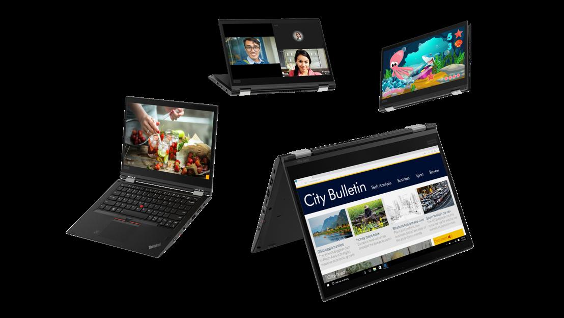 Lenovo lance le portefeuille ThinkPad le plus complet en 2018