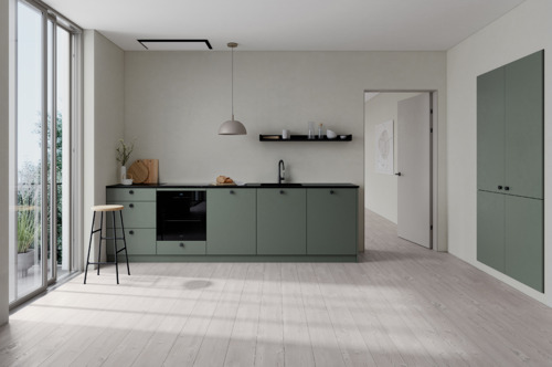 Preview: KVIK lanceert VEDA: een veelzijdige Deense designkeuken in elegante, gerecycleerde materialen