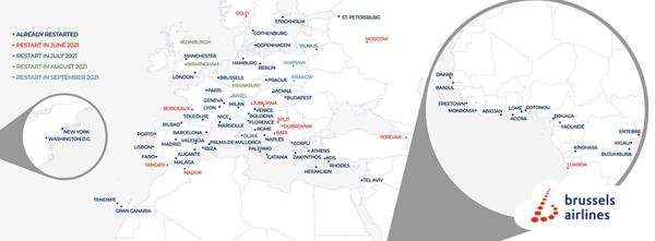 Preview: Brussels Airlines noteert sterke stijging in boekingen